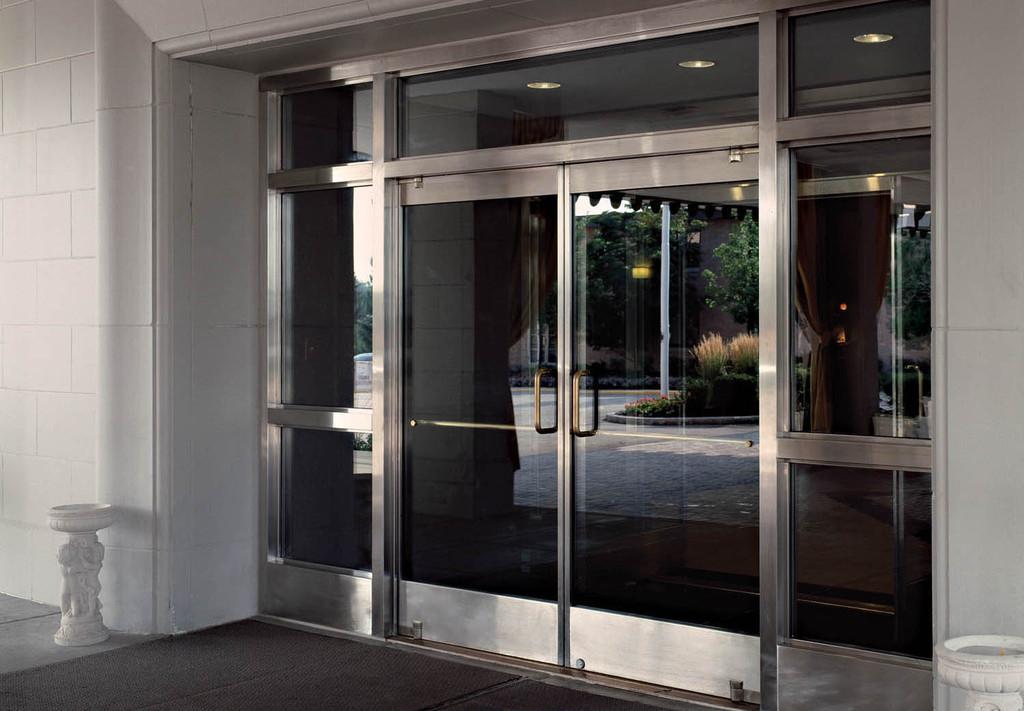 Glass Doors - Tempered Glass Balanced Doors & Glass Doors - Tempered Glass Balanced Doors from Ellison Bronze