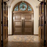 Bronze Doors - Formed Bronze Balanced Doors