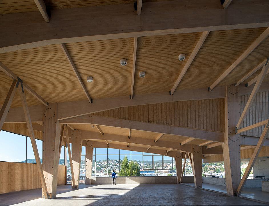 Por qu usar madera laminada hilam de arauco - Estructura madera laminada ...