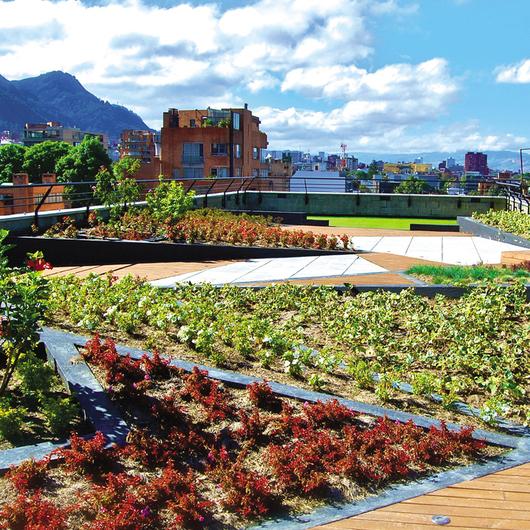 Impermeabilización para cubiertas verdes
