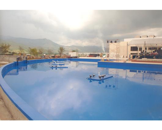 Aplicación de la impermeabilización para piscinas - Sika