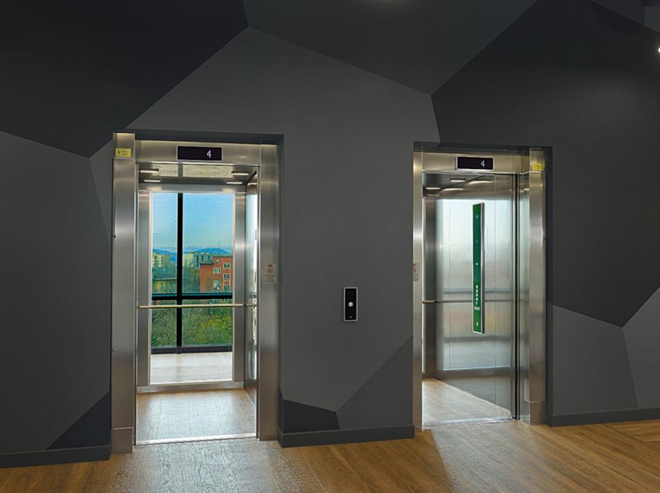 elevadores monospace de kone. Black Bedroom Furniture Sets. Home Design Ideas