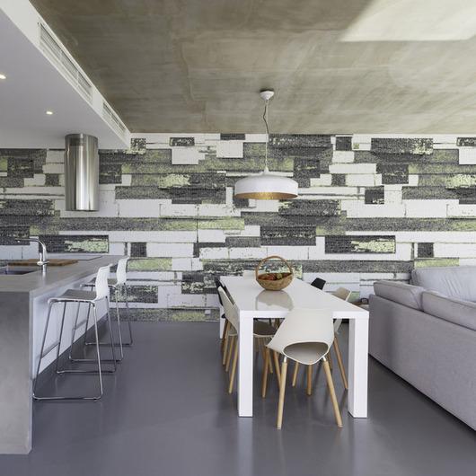 Glass Tiles - ReSalvage Collection Barnside Tile Pattern