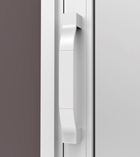 Aplicação Puxador Reto Flare 01 - R01