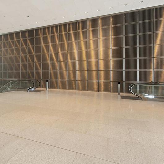 Architectural Wire Meshes - MULTI-BARRETTE 8123 / HAVER & BOECKER