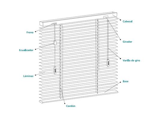 Feltrex | Persianas de Aluminio