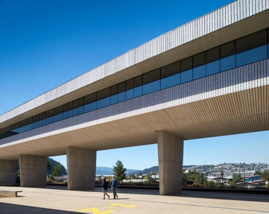 Edificio Liceo de Curanilahue