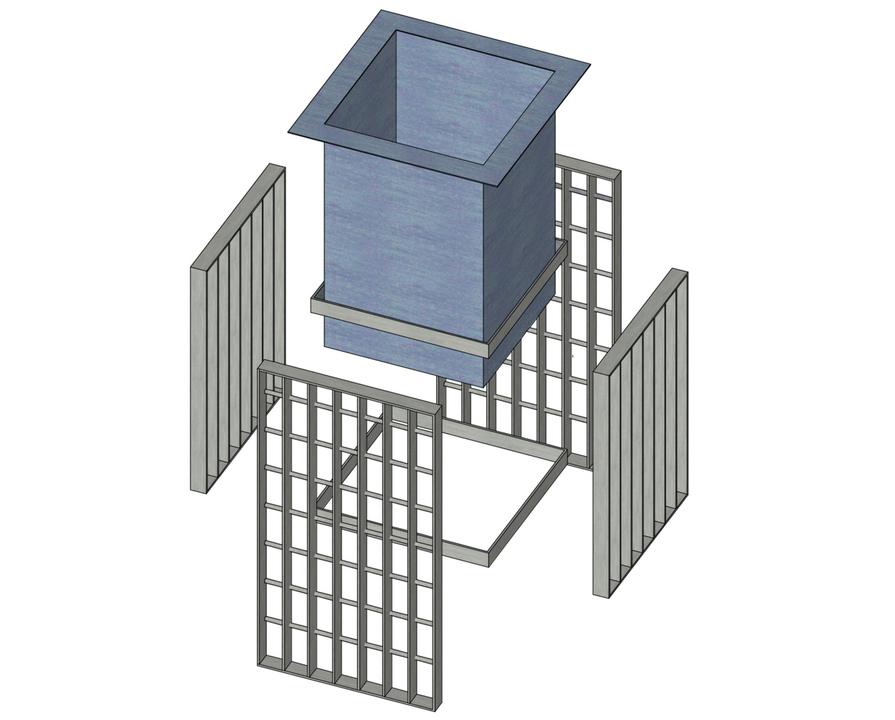 Mobiliario urbano con parrillas de barras y perfiles for Mobiliario urbano tipos