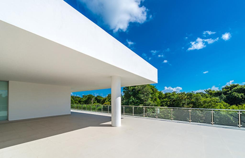 Recubrimiento para fachadas de cemento base max de panel rey - Recubrimiento para fachadas ...