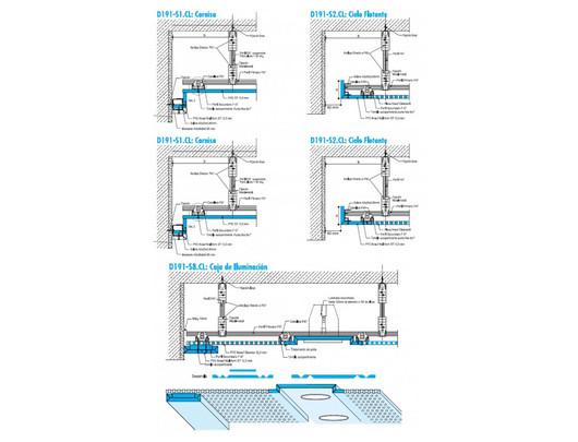 Cenefas Prefabricadas - Multiform | Detalles