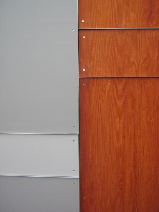 Revestimiento exterior eterplac permanit madera de pizarre o for Revestimiento exterior en madera