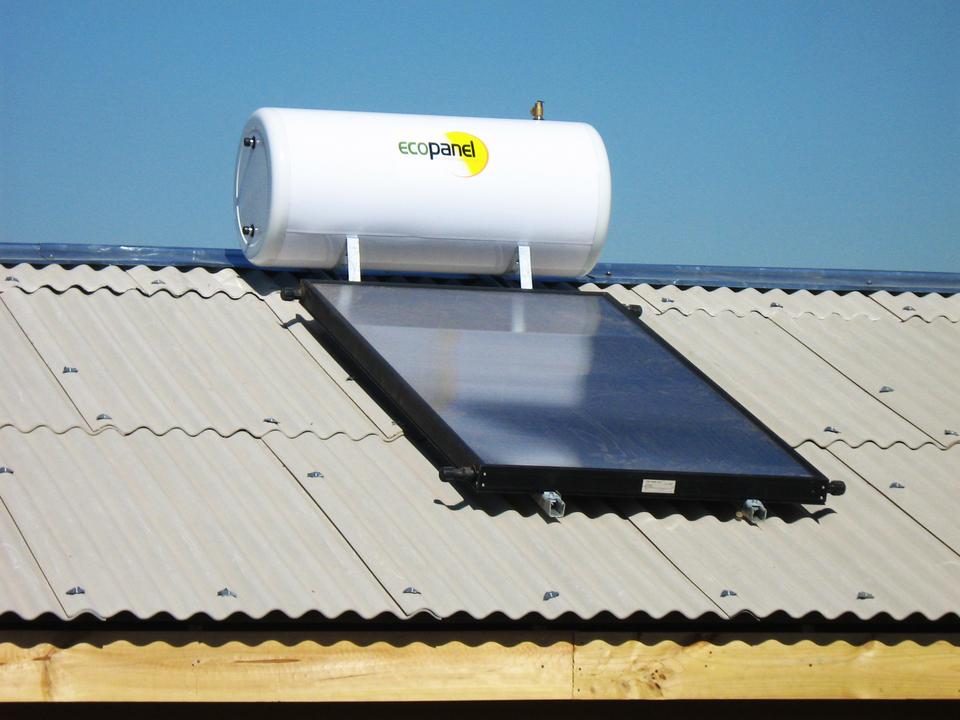 Paneles Solares sobre Placa de Fibrocemento Ondulado para Cubiertas