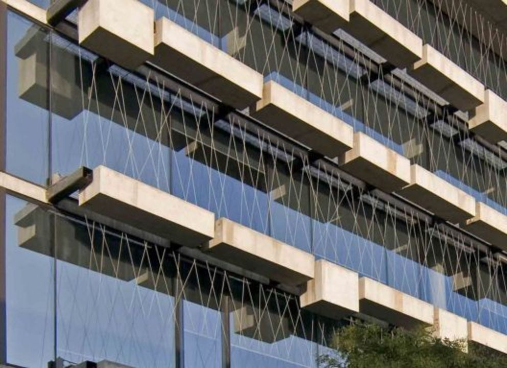 Apliacion de Cortinas Roller Quantum en Universidad Diego Portales