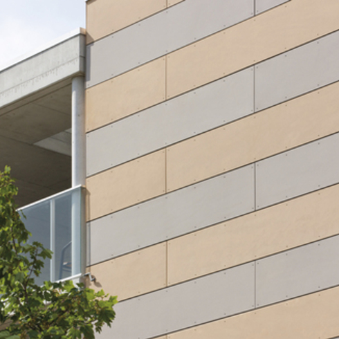 Placa de Fibrocemento de Alta Densidad, Etercolor para Fachadas Ventiladas / Pizarreño