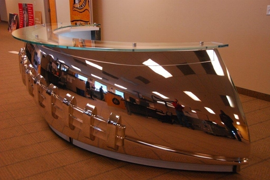 NFL Headquarters Desk, New York, USA.