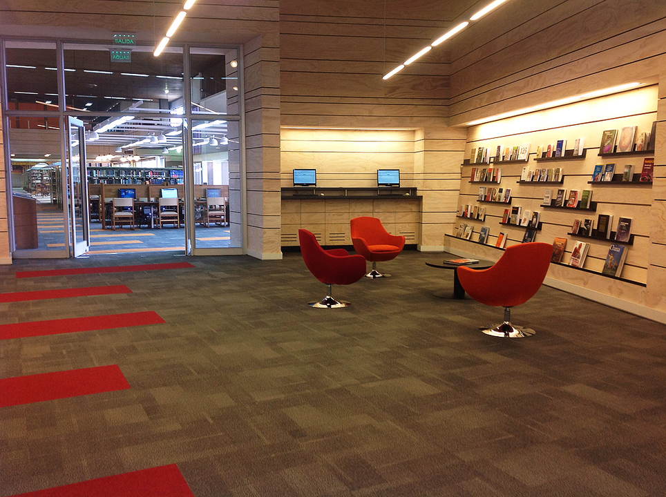 Remodelación Biblioteca Central Campus San Joaquín