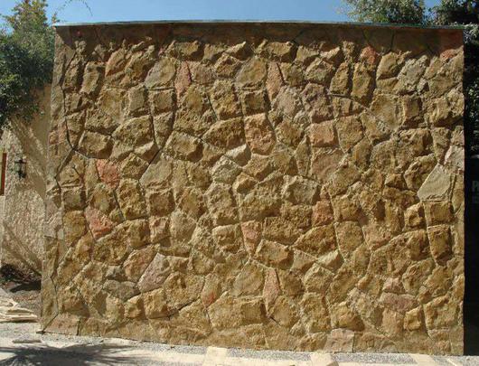 Revestimiento Tipo Piedra - Modelo Tatio - Color Arena   Petromur