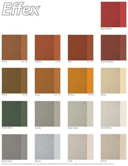 Pinturas acr licas effex piedra de comex for Pintura interior color arena