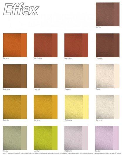 Pinturas acr licas effex piedra de comex for Color arena para paredes