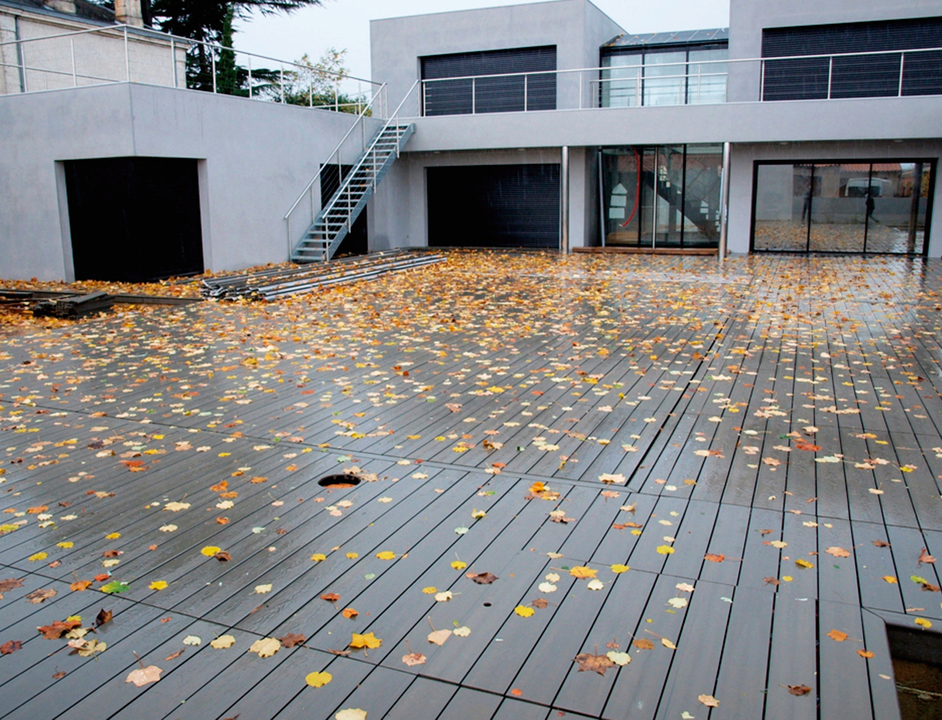 Piso para terrazas nomawood nmc de busel for Pisos de piedra para terrazas