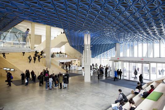 Ryerson University Student Learning Centre / Zeidler Partnership Architects + Snøhetta - © Lorne Bridgman