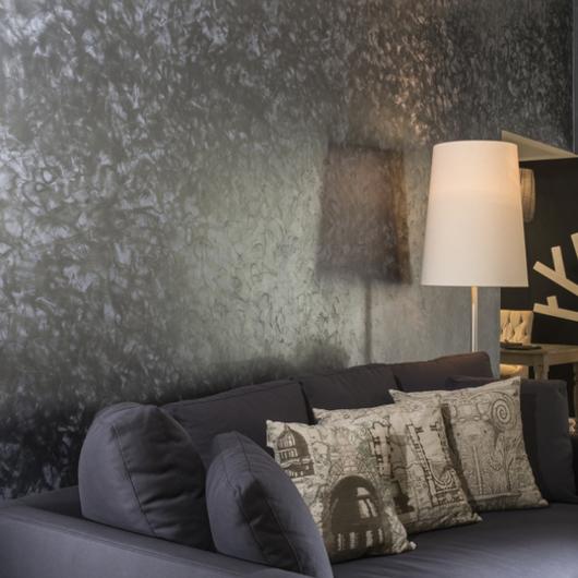 Pinturas acr licas effex metal de comex for Pintura pared color piedra