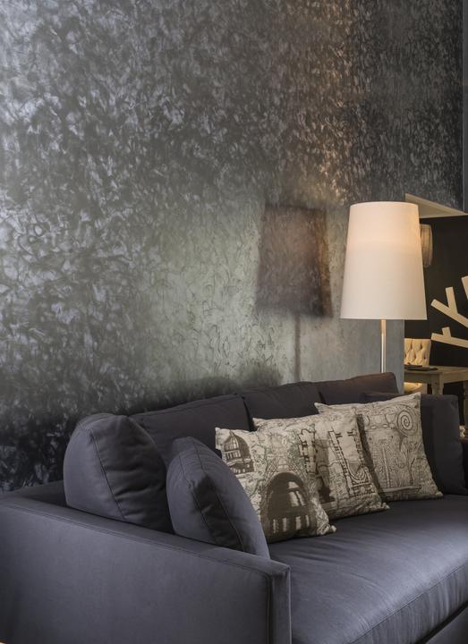 Pinturas acr licas effex metal de comex for Pintura dorada para pared
