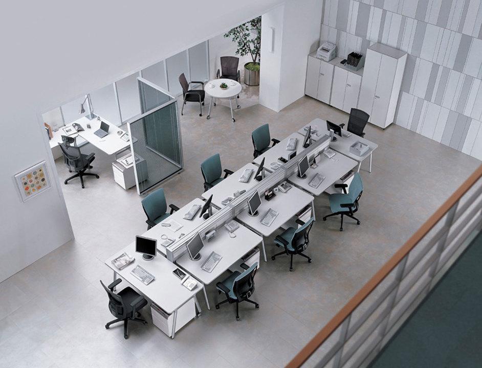 Mobiliario de oficinas expace de sos smart office solutions for Mobiliario de oficina escritorios