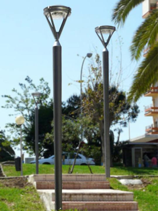 Luminarias de Exteriores Sistema Platik