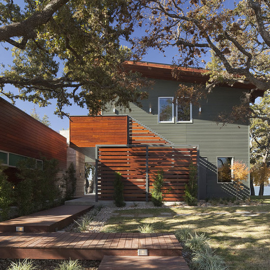 Façade Panels - Corrugated Panels