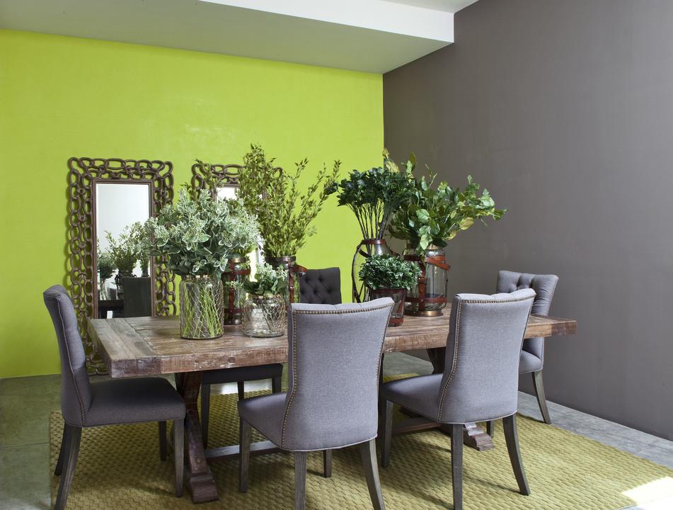 Pinturas effex m rmol de comex for Pinturas verdes para interiores