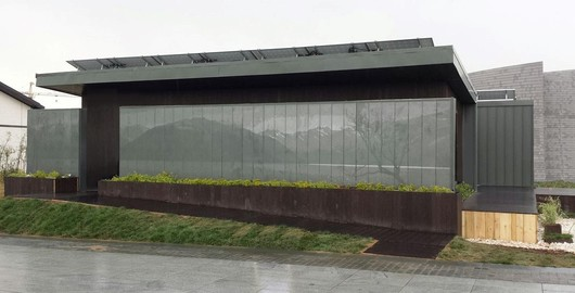 Pixelated Screen Wall | China |preweathered zinc |University of Illinois Perforated Backlit Screen Wall
