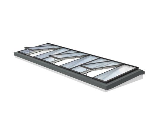 Longlight 5-30° - Modular Skylights