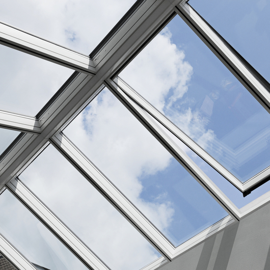 Modular Skylights - Ridgelight 25-40° / VELUX Commercial