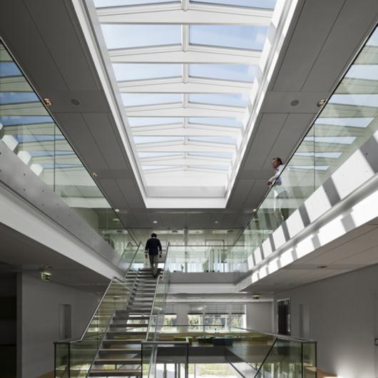 Gallery Of Modular Skylights Ridgelight At 5 176 With Beam 2
