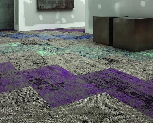 Aplicación alfombras modulares TANDUS Cartography - AB Küpfer