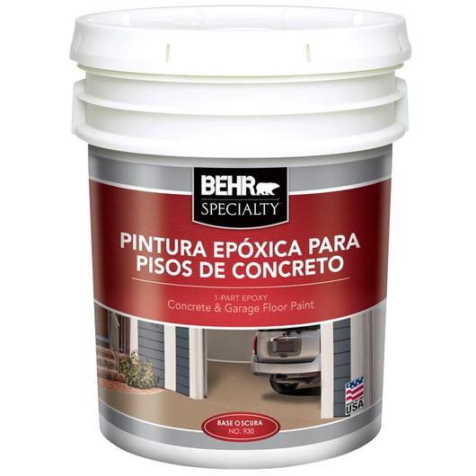 Pintura ep xica de behr pro - Pintura para pisos de cemento ...