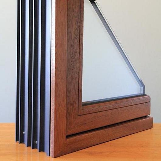 Ventanas de madera fusión aluminio