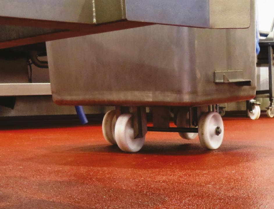 Pisos de uretano cementos de alto desempeño - Ucrete