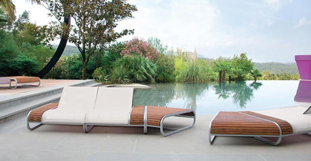 Telas Batyline para mobiliário de áreas externas e internas