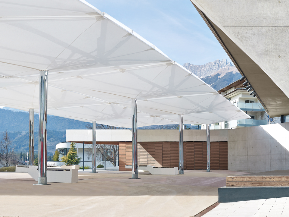 Double canopy umbrella type av from mdt tex for Type architecture