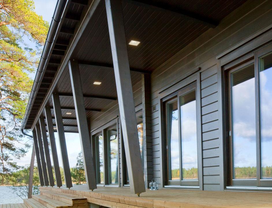 Acabado y protecci n para madera exterior de nuprotec - Proteccion para casas ...