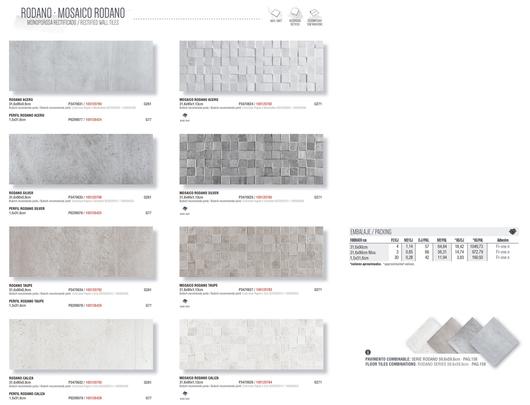 Colección Porcelanato Serie Rodano | Porcelanosa Grupo