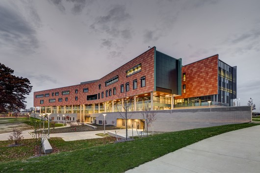 Oakland University Human Health Building / SmithGroupJJR Color: Custom Finish: Standard