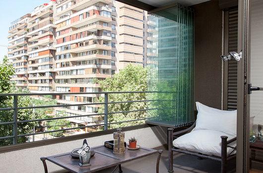 Sistema plegable para cierre de balcones mirador de ducasse industrial - Cerrar terraza aluminio ...