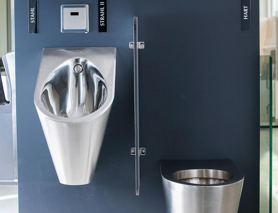 Productos de ba o en acero inoxidable de chc for Set de bano acero inoxidable
