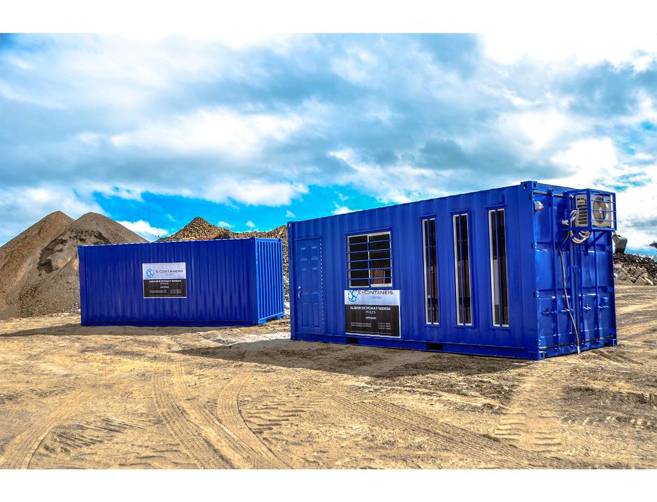Contenedores oficinas de e containers for Contenedores de oficina