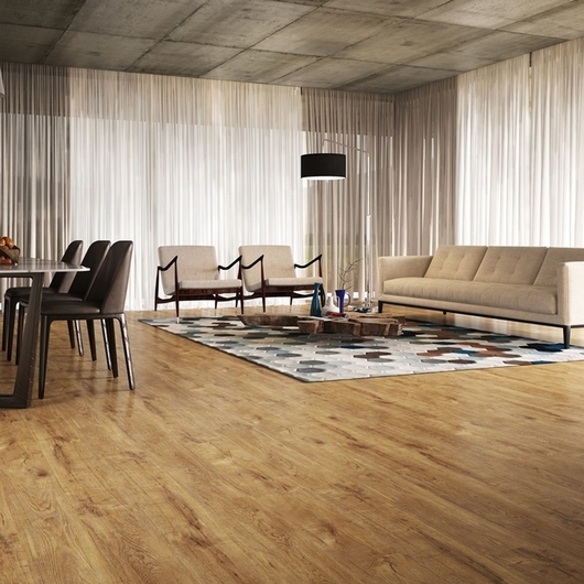 Piso Laminado Durafloor Linha Marcas do Tempo by Casa Claudia / Duratex