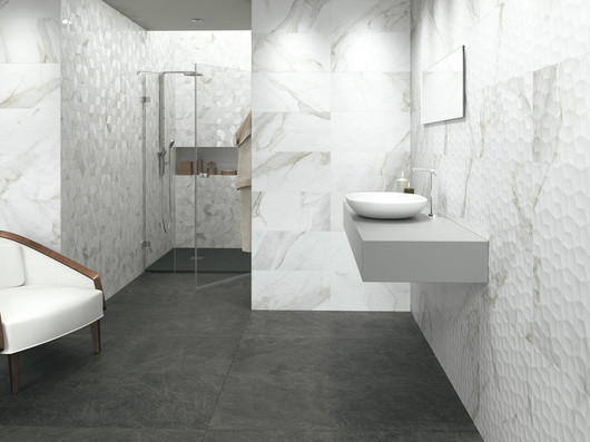 Porcelain Tiles Calacata From Grespania