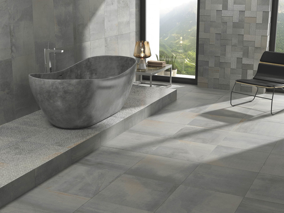 porcelain tiles vulcano from grespania. Black Bedroom Furniture Sets. Home Design Ideas